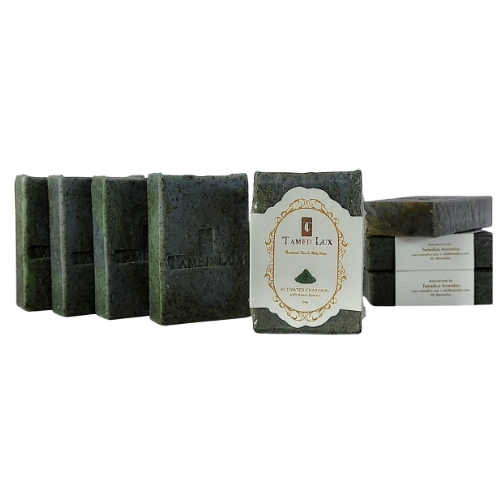 Activated Charcoal With Neem Extract Organic Bar Soap