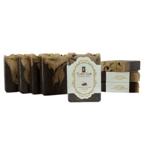 Coffee and Chocolate With Rice Milk Organic Bar Soap