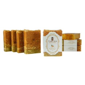 Turmeric and Bentonite Clay With Beta Carotene Organic Bar Soap